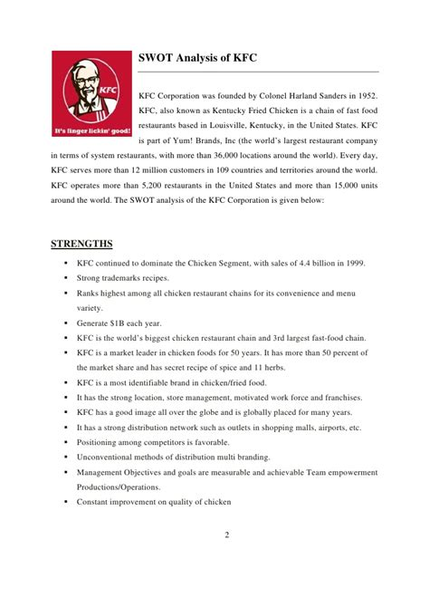 Kfc pest analysis essay example for free jpg 728x1030