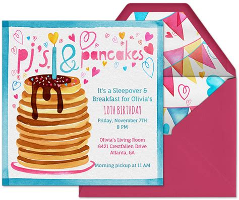 teen sleepover party invitation ideas jpg 595x500