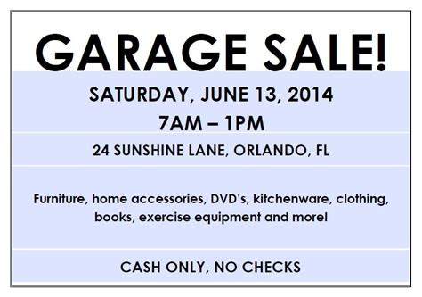 How to write a great garage sale ad the spruce jpg 788x554